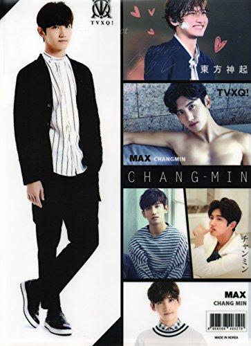 東方神起 チャンミン (マックス/MAX) 【クリアファイル】 A4サイズ 両面写真