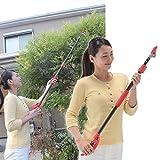 高枝切りバサミ 軽量 伸縮式高枝切りばさみ (92~142cmの4段階調整)切った枝をつかむキャッチ機能付き