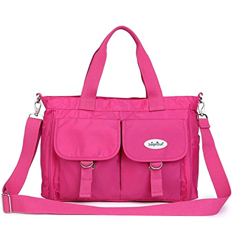 防水ミイラバッグ、大容量ショルダーバッグ、多機能マザーバッグ、ハンドバッグ ( 色 : 赤 )