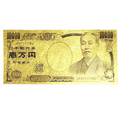タジマ 純金箔一万円札カード
