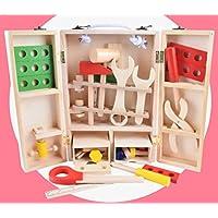 [はれちゃんのおもちゃシリーズ] 工具のおままごとセット ネジやナットやペンチなどいろんな工具を知ろう