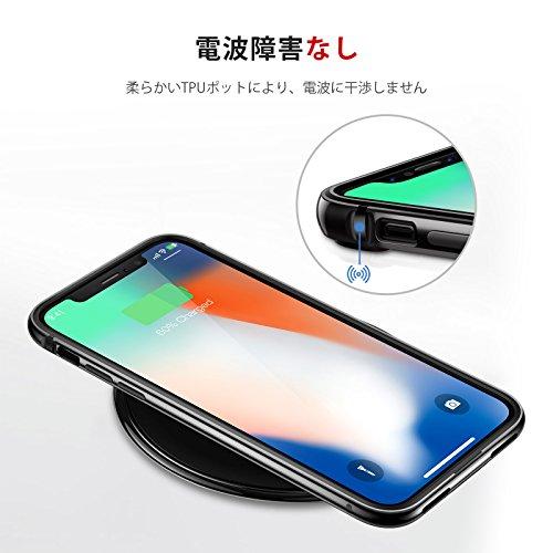 『TORRAS iPhone Xs ケース/iPhoneX ケース iPhoneXs/X アルミバンパー【アルミ シリコン二重保護】ストラップホール付き 着脱簡単 電波影響無し レンズ保護 一体感 アイフォンX/アイフォンXs 用 耐衝撃カバー(ジェットブラック)』の4枚目の画像