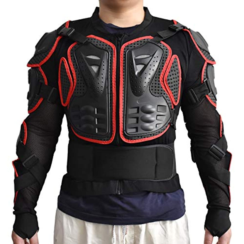 スカープ消費するゲージWOLFBIKEスポーツジャケットMotorcycle Racingボディ保護アーマー保護coverage