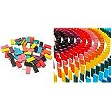 カラードミノ World Bridge 木製ドミノ 10色・12色 積み木 としても◎ カラー 積木(12色)
