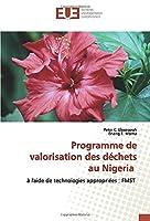 Programme de valorisation des déchets au Nigeria: à l'aide de technologies appropriées : FMST