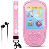 AGPTEK Bluetooth MP3 Player for Kids, Children Music Player with Built-in Speaker 8GB, 2.4 Inch HD Screen, 10 Soothing Sounds