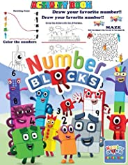 Numberblocks Activity Book: Include games, mazes, picture puzzles, find the differences, Coloring, and more!