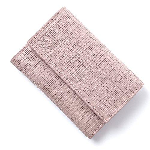 (ロエベ) LOEWE 3つ折り財布 小銭入れ付き/TEXTURED CALF [並行輸入品]