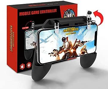 ACHICOO PUBG Mobile コントローラー 移動操作用パッド ホルダー スマホ用 ゲームパッド スマホゲームハンドル 射撃ボタン 押しボタン 連続射撃 高感度 位置精確 操作簡単 iPhone/Android 各種ゲーム対応可能