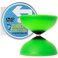 Mr Babache Finesse G4 Green Diabolo & Diabolo Directions DVD Set [並行輸入品]