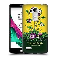 Official Frida Kahlo シュラッブ パープル・フローラル ハードバックケース LG G4 Beat / G4s / G4 s / H735