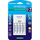 Panasonic eneloop Ready to Use Rechargeable Battery, AA, (Pack of 4)
