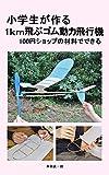 小学生が作る1km飛ぶゴム動力飛行機: 100円ショップの材料でできる