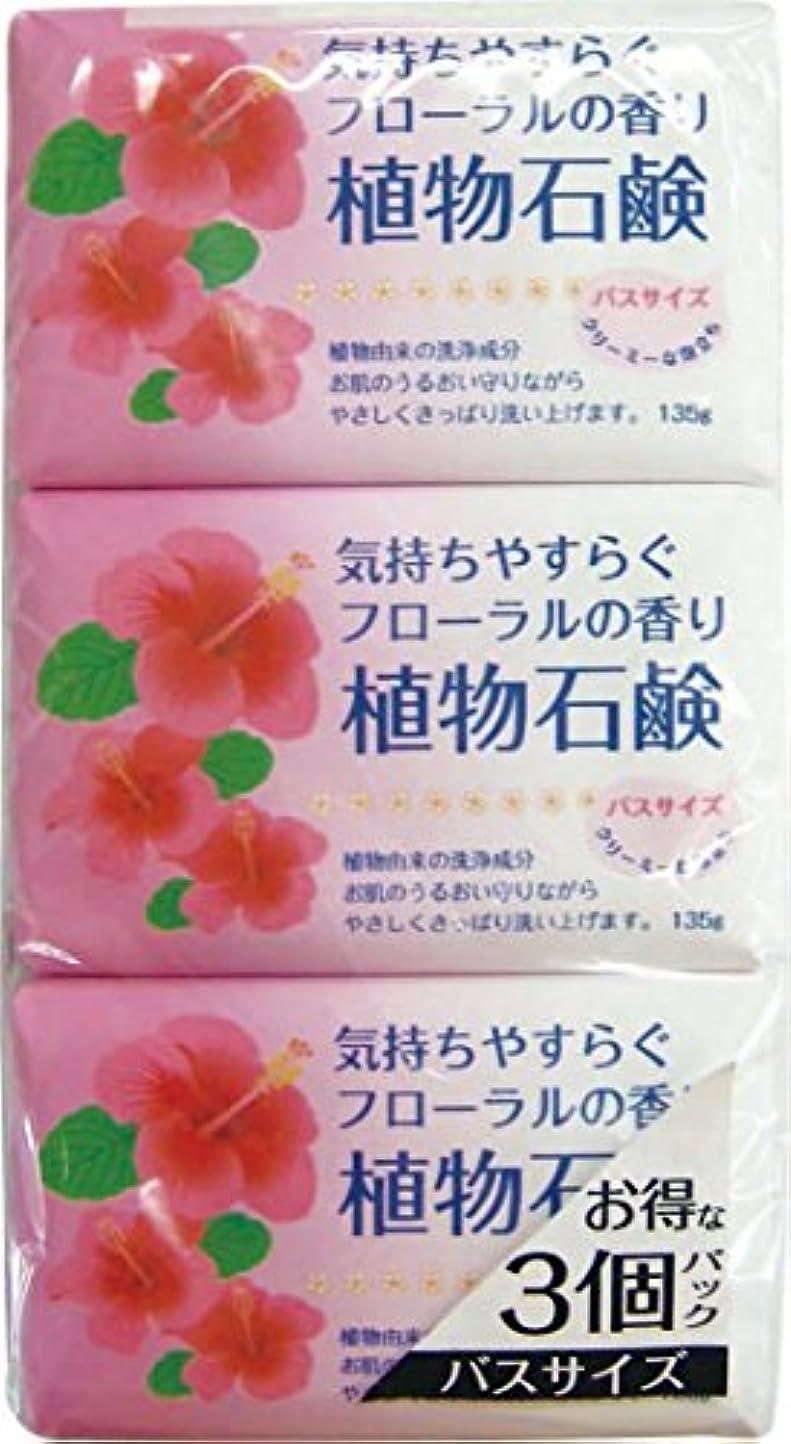 文言エキスパートポーン香りの植物石鹸 バスサイズ 135g×3個
