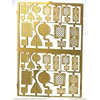 Langley Models Drain + Manhole covers Etched Brass OO Scale UNPAINTED Kit F73