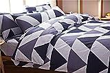 日本製 綿100% シンプル風 シングルサイズ布団掛けカバー+ボックスシーツ+枕カバー3点セット 敷き布団カバー シーツカバー 防ダニ 寝具カバー
