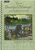 Lang Bountiful Blessings 2016 Engagement Planner Spiral Bound by Susan Winget January to December 2016 6.25 x 9 Inches (1011083) [並行輸入品]