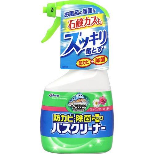 スクラビングバブル防カビ除菌プラスバスクリーナー