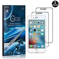 【2枚セット】 iPhone 6 / 6S / 7 / 8 フィルム CUNUS Apple iPhone 6 / 6S / 7 / 8 専用設計 硬度9H 耐衝撃 強化ガラスフィルム 超薄0.26mm 高感度タッチ 気泡防止 指紋防止 高透明度で 液晶保護フィルム