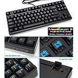 FILCO Majestouch2 87テンキーレス青軸US配列 USB&PS2両対応 Nキーロールオーバー対応 独Cherry青軸採用メカニカルキーボード ブラック FKBN87MC/EB2