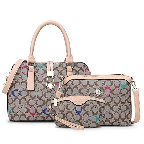 SUNNY SHOP 3バッグ/セットデザイナーハンドバッグ高品質 女性のバッグ お母さんのためのギフト