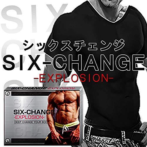 【正規販売】SIX-CHANGE 加圧シャツ 加圧インナー 強力引締 (L, 黒)
