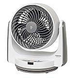 [山善] 扇風機 18cm サーキュレーター 上下左右自動首振り 風量3段階調節 静音モード搭載 タイマー機能 リモコン付 ホワイトグレー YAR-VL185(WH) [メーカー保証1年]