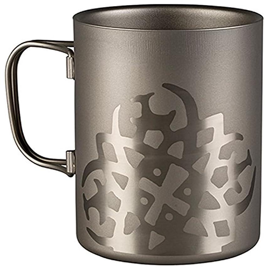検出に対応する異常ノルディスク チタニウム ダブルウォール マグカップ 450ml NORDISK Titanium Mug Double-Wall 450 [119031]
