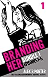 Branding Her: Steamy Lesbian Romance Series (Book Bundle 1): Episodes 01 - 06 (BRANDING HER : Steamy Lesbian Romance Series) (English Edition)