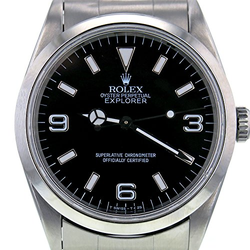 Rolex Explorer automatic-self-wind Mens Watch 14270 (認定pre-owned )