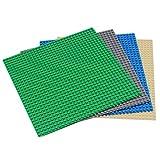 EMY 基礎板 ブロック プレート クラシック 互換性 32×32ポッチ グリーン ダークグレー ブルー ベージュ 4枚セット
