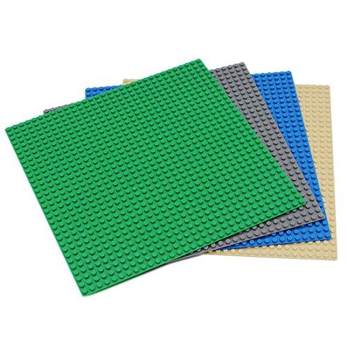 [해외]EMY 페널 블록 플레이트 클래식 호환 32 × 32 폿찌 그린 다크 블루 베이지 4 개 세트/EMY base plate block plate classic compatibility 32 × 32 Pochi green dark gray blue beige 4 piece set