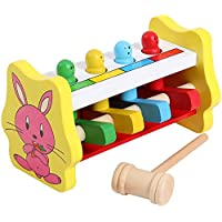 木製Beatおもちゃ早期教育 – Playing木製hamster-hand Eye Coordination