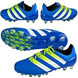 [アディダス] adidas サッカーシューズ エース 16.1-ジャパン HG AF5102 AF5102 (ショックブルーS16/セミソーラースライム/ランニングホワイト/25.5)