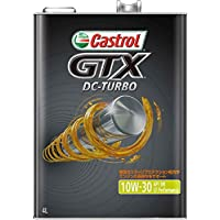 CASTROL(カストロール) エンジンオイル GTX DC-TURBO 10W-30 SM/CF 4輪ガソリン/ディーゼル車両用 4L [HTRC3]
