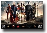 Justice Leagueポスター–ムービーPromo 11x 17Wide