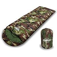 WIBERTA(ウィベルタ) 寝袋 シュラフ コンパクト スリーピングバッグ 軽量 封筒型 丸洗い可能 収納袋付き 最低使用温度0度 4カラー