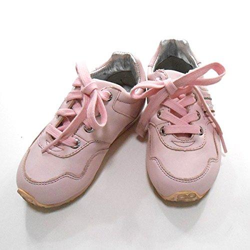 (ディーアンドジー) D&G JUNIOR スニーカーピンク シューズ 15cm キッズ 子供服 ジュニア 女の子 (中古)