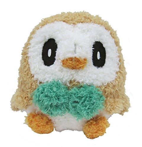 "Eevee Pokemon Sekiguchi MokoMoko Beanie Plush 9/"" Stuffed Toy Doll Japan"
