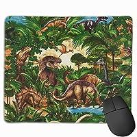 恐竜時代 マウスパッド ゲーミング ゲームオフィス 高級感 おしゃれ 防水 耐久性が良い 滑り止めゴム底 適用 マウスの精密度を上がる