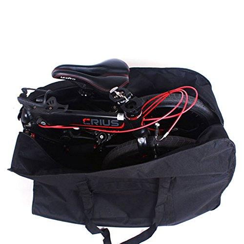 折畳み 自転車 輪行 袋 ( 輪行バッグ ) ショルダー 付属 / DAHON BD-1 等 (14 16 20 インチ 対応)