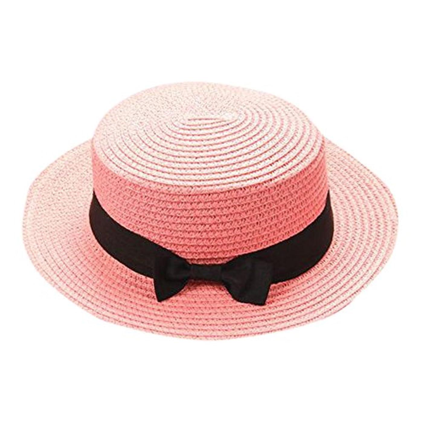急性扱いやすい嵐のキャップ キッズ 日よけ 帽子 小顔効果抜群 旅行用 日よけ 夏 ビーチ 海辺 かわいい リゾート 紫外線対策 男女兼用 日焼け防止 熱中症予防 取り外すあご紐 つば広 おしゃれ 可愛い 夏 ROSE ROMAN
