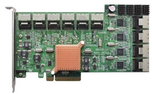 HIGHPOINT Rocket 750 1枚のカードで40台 6Gbps SATA ドライブが接続可能なHBAカード 日本正規代理店品 IO1571 R750