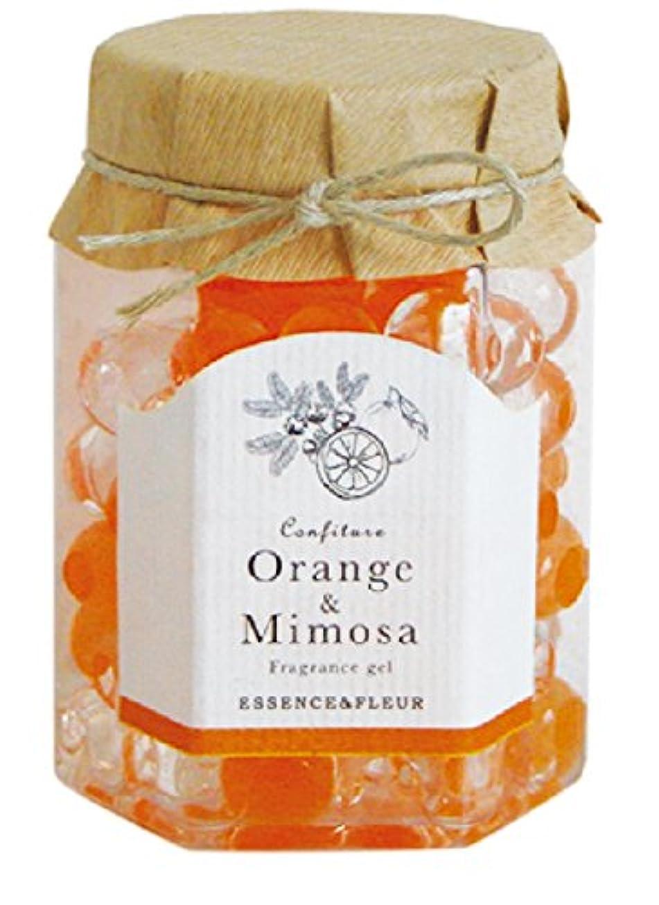 専門知識肝遅いコンフィチュール フレグランスジェル オレンジアンドミモザ