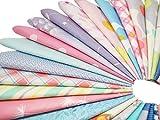 カットクロス 綿 生地 はぎれセット 花柄 DIY手作り パッチワーク 布 約30cm×30cm (ランダム20枚)
