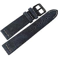ColaReb 20mm Spoleto Blue PVD バックルレザー腕時計ベルト