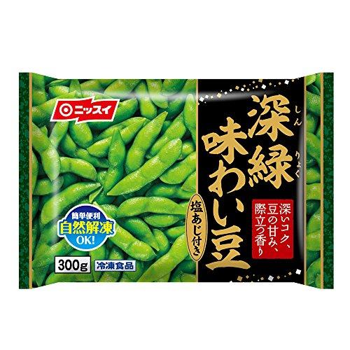 ニッスイ 深緑味わい豆 300g