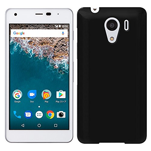 「Breeze-正規品」iPhone ・ スマホケース ポリカーボネイト [Black] softbank DIGNO G 601KC/Ymobile android one S2 兼用 京セラ ディグノ G カバー android one S2 カバー 液晶保護フィルム付 全機種対応 [DIGG]