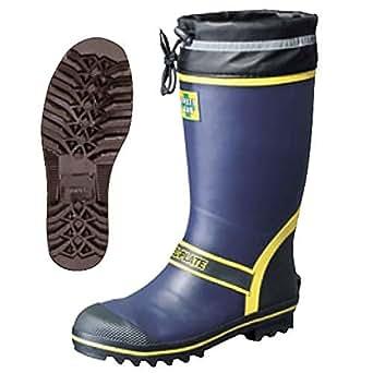 安全長靴 セーフティーブーツ 弘進ゴム SB-3105 ネイビー 25.5cm 鋼製先芯 鋼製中底 踏抜防止