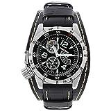 [シーレーン]SEALANE 腕時計 20BAR 簡易方位ベゼル N夜光 本革 SE46-LBK メンズ